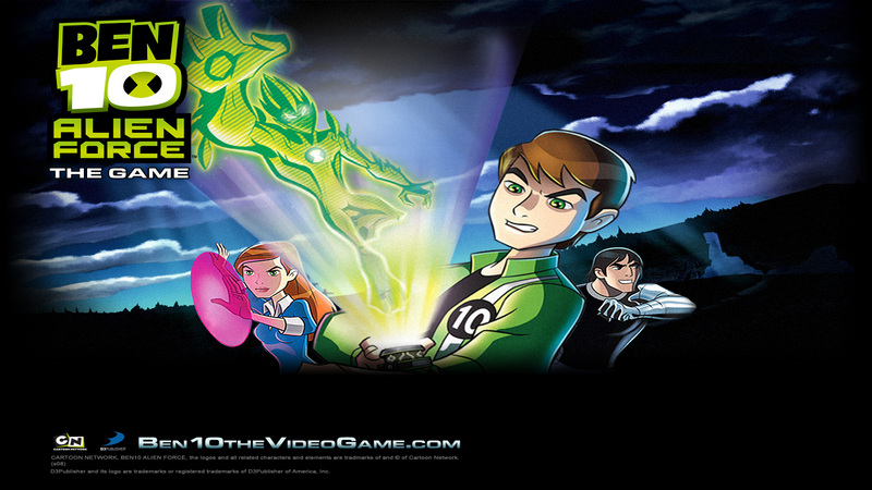 Kody do Ben 10: Alien Force The Game (Wii)