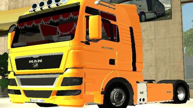 Euro Truck Simulator (PC) - Ciężarówka MAN TGX