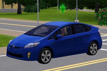 The Sims 3 (PC) - Samochód Toyota Prius