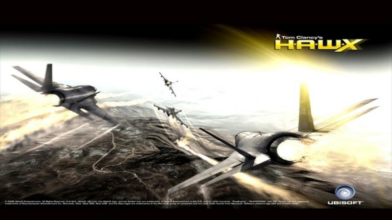 Tom Clancy's H.A.W.X. - Zwiastun z Ubidays 2008