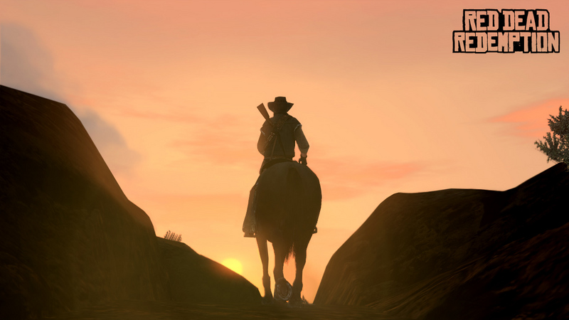 Red Dead Redemption - trailer (screeny z gry)