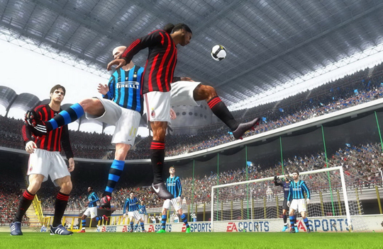 Pro Evolution Soccer 10 vs FIFA 10