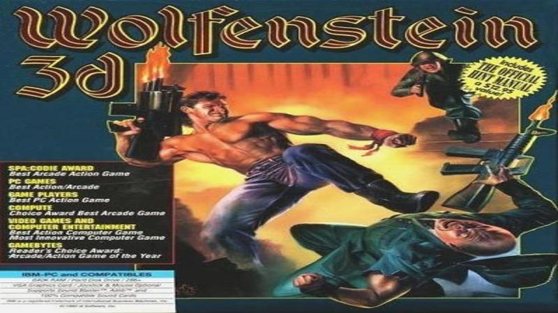 Wolfenstein 3D – pełna wersja (DOS)