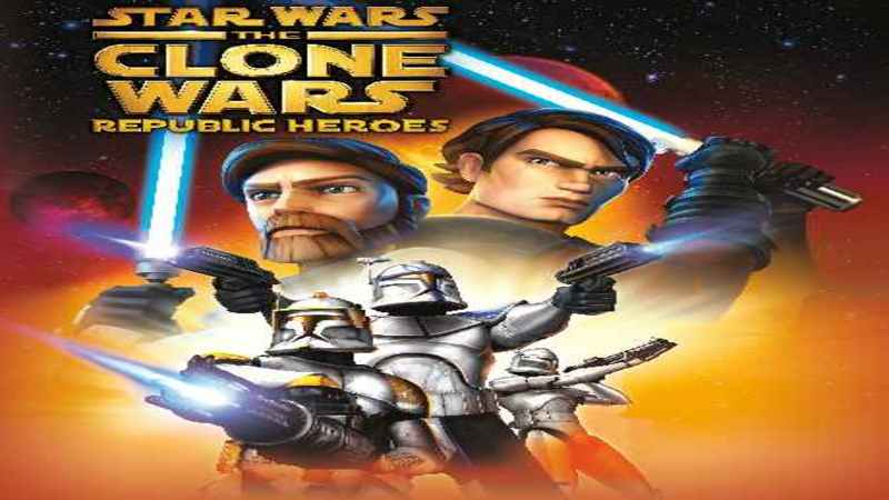 Clone Wars : Republic Heroes - gameplay pl