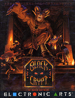 Black Crypt (Amiga) - Walka z dwugłowym ogrem (2 Poziom)