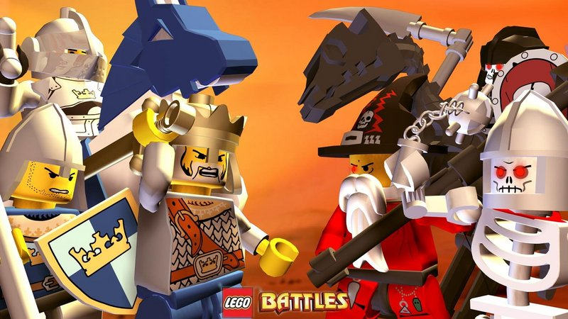 Kody do LEGO Battles (NDS)