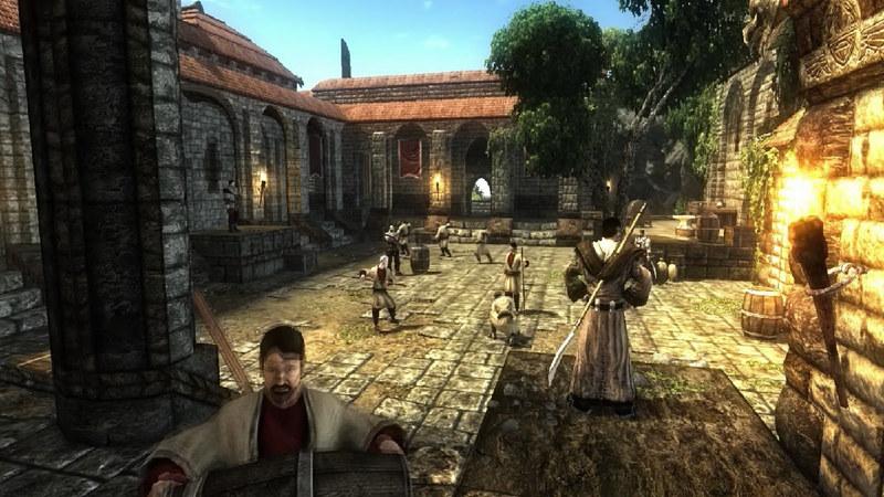Risen - gameplay (questy w mieście)