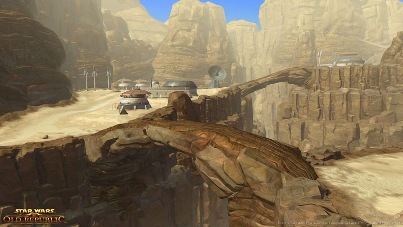 Tatooine w Star Wars: The Old Republic