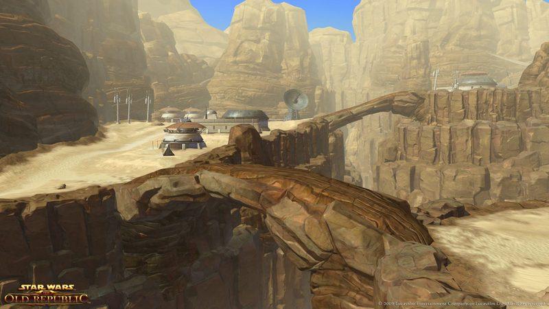 Tatooine w Star Wars: The Old Republic