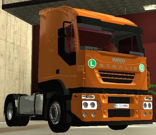 Euro Truck Simulator (PC) - Ciężarówka Iveco Stralis