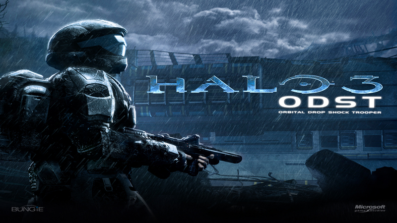 Halo 3 : ODST -  prezentacja & gameplay