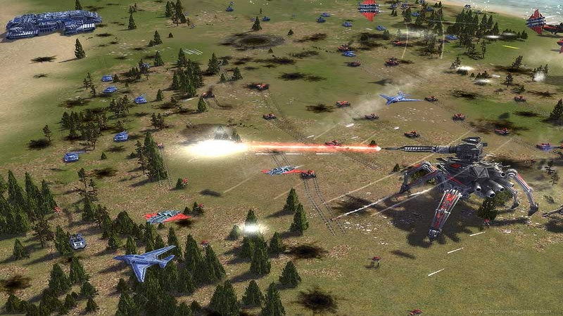 Supreme Commander - wielka bitwa
