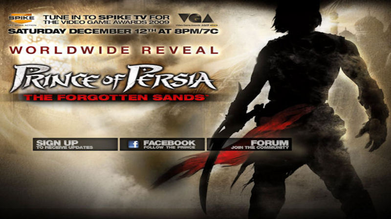 Prince of Persia : The Forgotten Sands - prezentacja gry