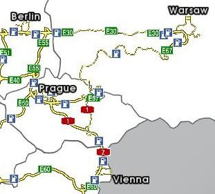 Euro Truck Simulator (PC) - Mapa ETS EU 1.2
