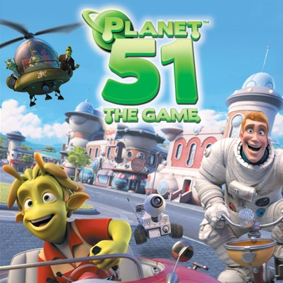 Planet 51: The Game - Trailer (E3 2009)