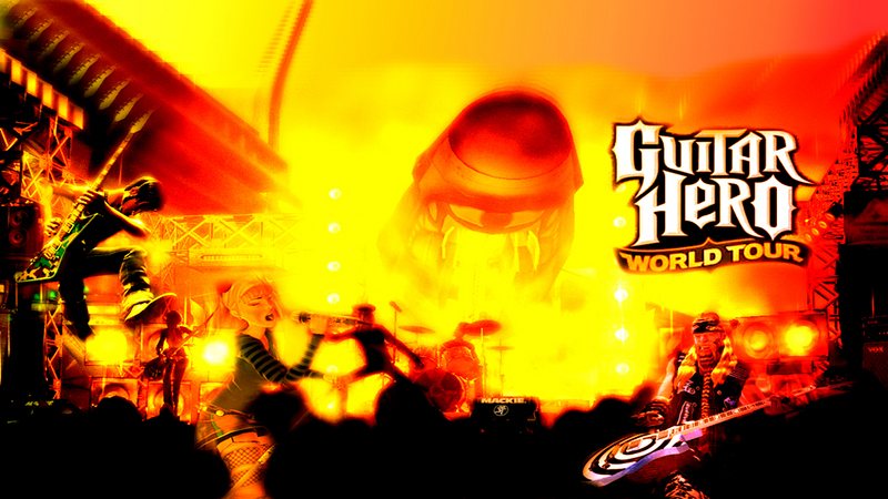Kody do Guitar Hero: World Tour (PS2; PS3; Wii; Xbox 360)