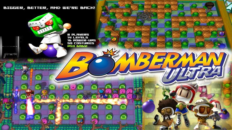 Kody do Bomberman Ultra (PS3)