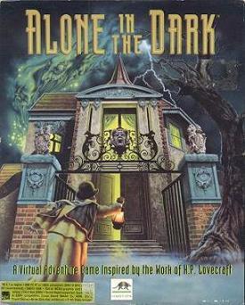 Alone in the Dark - intro (DOS)
