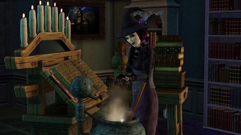 The Sims 3 - wampiry, wilkołaki i cała reszta