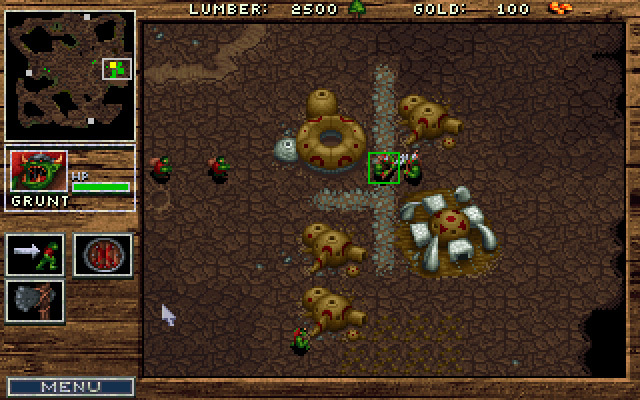 Warcraft: Orcs & Humans - Pełna wersja (DOS)
