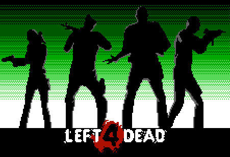 Pixel Force: Left 4 Dead - Gameplay (No Mercy: Hospital Roof Finale)