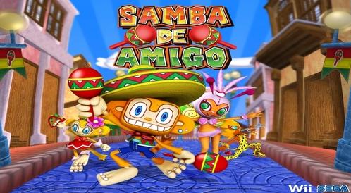Kody do Samba de Amigo (WII)