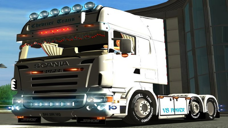 Euro Truck Simulator (PC) - Ciężarówka Scania R500 6x2