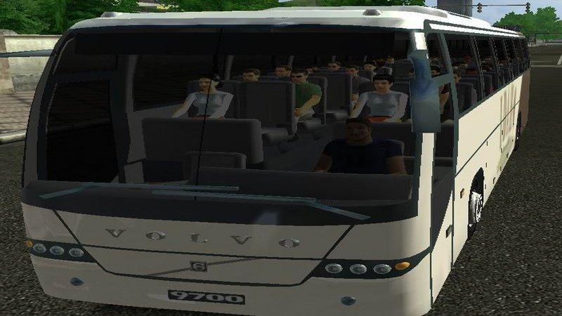 Euro Truck Simulator (PC) - Autobus Volvo 9700