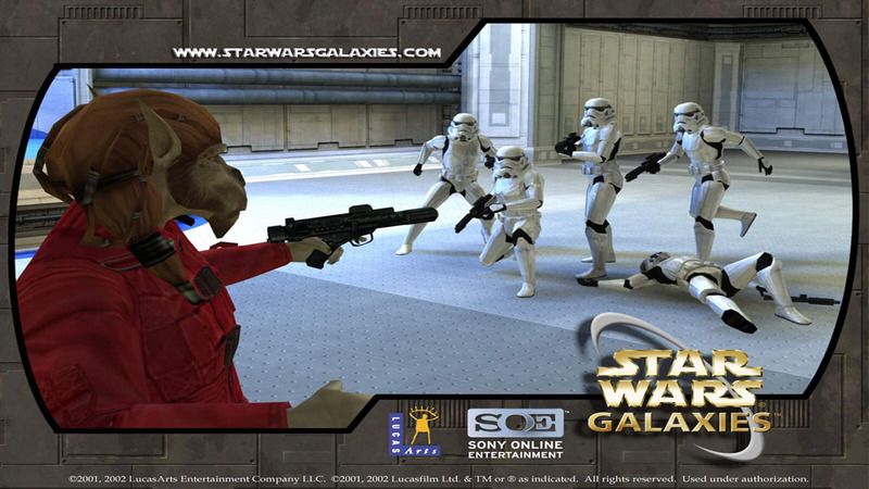 Koniec Star Wars: Galaxies?