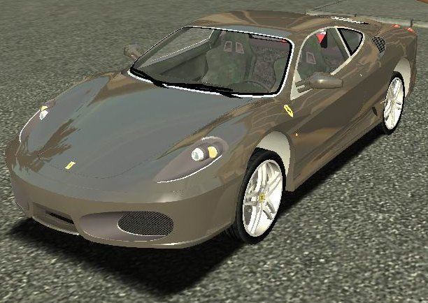 Euro Truck Simulator (PC) - Samochód Ferrari Enzo