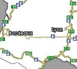 Euro Truck Simulator (PC) - Trasa Bordeaux-Lyon