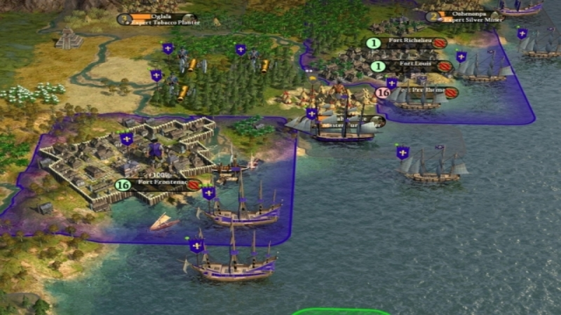 Civilization IV Colonization  – gameplay