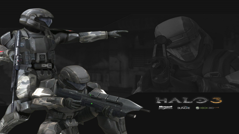 Halo ODST - gameplay (3 misja - Co-OP)