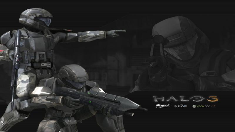 Halo ODST - gameplay (3 misja - Co-OP)