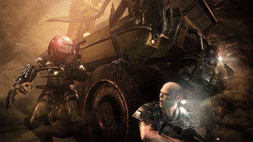 Aliens vs Predator - trainer +4 (dla wersji Ds 11)