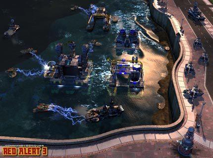 Red Alert 3 - gameplay z muzyką (Hell March)