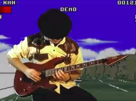 Lotus III - motyw główny wykonany na gitarze