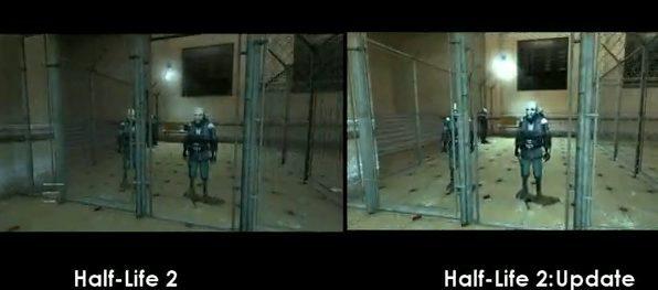 Half-Life 2 - pokaz modyfikacji poprawiającej grafikę