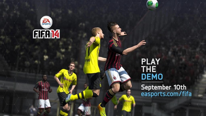 Demo FIFA 14 na PC, PS3 i Xbox360 już JUTRO