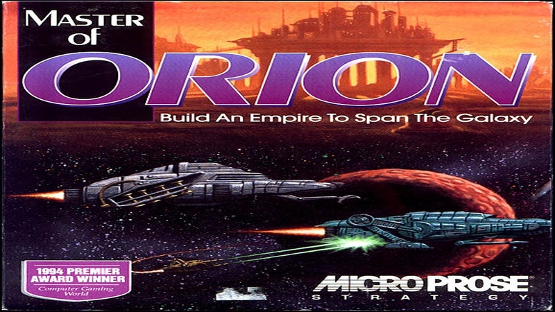 Master of Orion - intro (DOS)