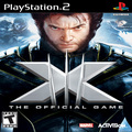X-Men: The Official Game (PS2) kody