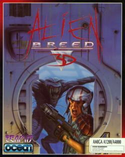Alien Breed 3D - gameplay (Amiga)