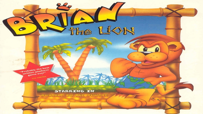 Brian the Lion - gameplay (Amiga)