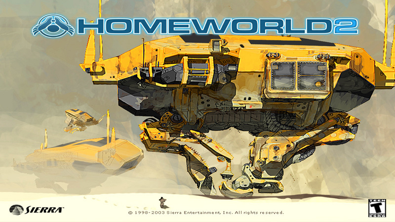 Homeworld 2 - muzyka z gry (Battle_04)