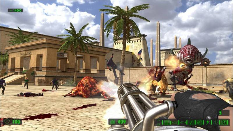 Serious Sam HD: The First Encounter - gameplay