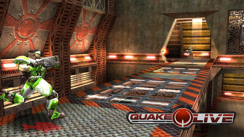 Quake Live - kompilacja gameplay'ów
