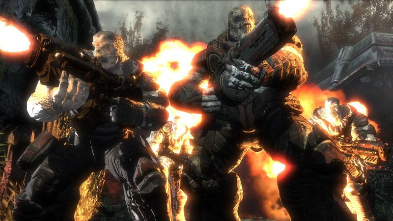 Nowe mapy do Gears of War 2?