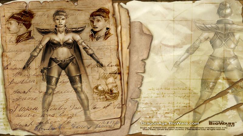 Dragon Age Pocztek - rozmowa (wersja pl)
