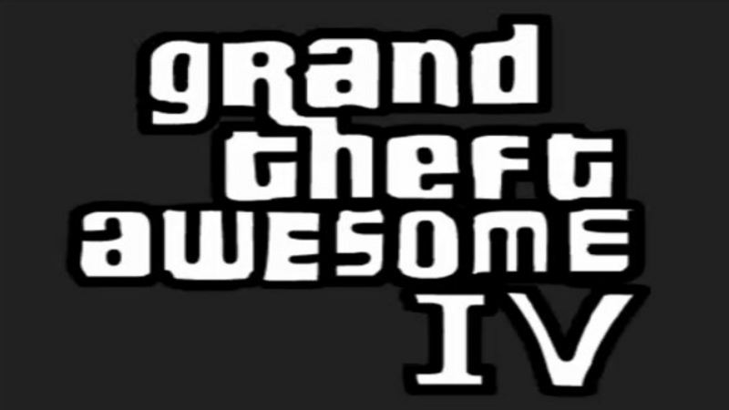 Grand Theft Awesome IV - Parodia gry Grand Theft Auto IV