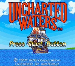 Uncharted Waters - Pełna wersja (DOS)